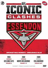 AFL - Iconic Clashes - Essendon (DVD, 2012, 3-Disc Set)