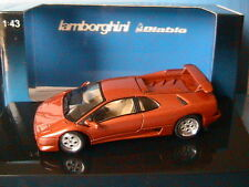LAMBORGHINI DIABLO COUPE VT METALLIC RED MARROON AUTOART 54572 MARRON METAL