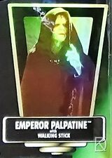 Emperor Palpatine unopened Action Figure Kenner POTF 2 Star Wars Hologram Card