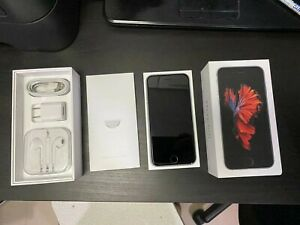 Apple iPhone 6s 32GB Gray Unlocked Smartphone Mint Condition 100% working