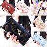 Fashion Women Bifold Wallet Leather Clutch Card Holder Purse Handbag USWarehouse