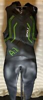 2XU Black Green Active A:1 Wetsuit New condition Size M