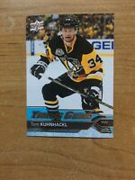 TOM KUHNHACKL 2016-17 YOUNG GUNS ROOKIE SERIES  Card #223