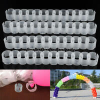 50Pcs Decorative Balloon Arch Buckle Ring Clip DIY Kits Connect Ring New