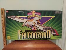 1995 Mighty Morphin Power Rangers White Ranger's Deluxe Falconzord NEW SEALED