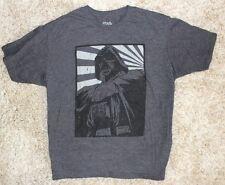 Star Wars Darth Vader Adult XL Graphic Tee T Shirt Gray Black