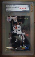 (5) Shaquille O'Neal 1992-93 Upper Deck Rookies #1 PRO Gem Mint 10, HOF, Shaq