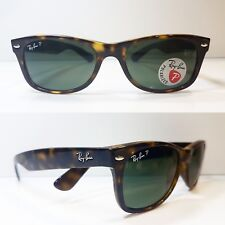 44c0dadf54b Authentic Ray-Ban Wayfarer 2132 - 90258 Sunglasses Tortoise Polarized 58mm