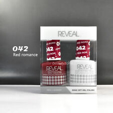 Reveal Gel Polish & Nail Lacquer Matching Duo #042 - Red Romance