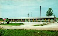 Vintage Postcard - Fruit Belt Motel Anna Illinois IL Un-Posted #1442