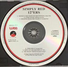 "Simply Red 12""ers (Japan CD 1987) No Barcode (28XD-711) WEA Elektra"