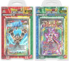 Dragon Ball Super Unity of Saiyans Destruction Expansion Set SEALED & IN HAND!!