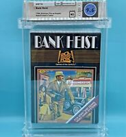 BANK HEIST - WATA 9.6 NS  ** Atari 2600 **  20th Century Fox - NEW SEALED