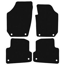 Skoda Fabia (2007-2015) New Black Checker Rubber Tailored Car Floor Mats