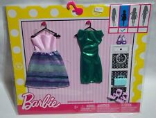 NEW-2016-BARBIE 2 PACK FASHIONS-MERMAID-FASHIONISTAS- FITS PETITE AND BASIC BODY