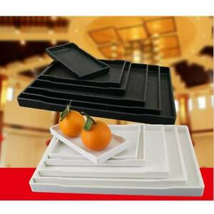 Rectangle ABS Tea Coffee Snack Food Serving Tray Restaurant Trays