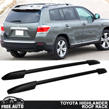 Fits 2008-2013 Toyota Highlander Black Roof Rack OE Factory Style