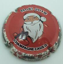capsule de champagne Caux Dominique mariage M et R