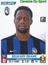 015 BOUKARY DRAME SENEGAL ATALANTA PSG FC.SOCHAUX STICKER CALCIATORI 2016 PANINI