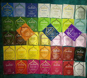 """""""PUKKA """" Selection Pack 40 Different  Enveloped  Tea Bags"""