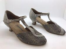 Chaussure de danse de salon pour femme Diamant motif: python