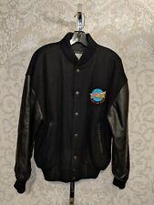 Coca Cola Super Sonic Program Drive-In Letterman Jacket Wool Leather Sz S #3702