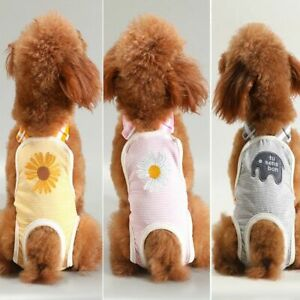 Pet Underwear Washable Dog Pads Dog Diapers Female Belly Band Male Dog Wraps
