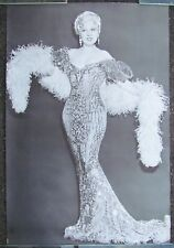 1966 VINTAGE ORIGINAL LARGE PERSONALITY POSTER MAE WEST HOLLYWOOD MOVIE STAR
