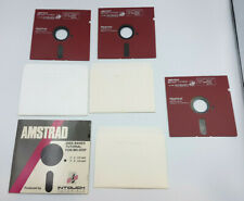 """1989 INTOUCH 5.25""""  bulk Floppy Disks Disc AMSTRAD MS DOS TUTORIAL  LOT PC"""