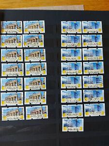 Automatenmarken - ATM - Bund gestempelt - Ausgabe von 2008 - schönes Lot / Fe