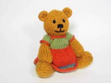 Bitsy Teddy Girl Knitting Pattern
