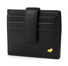 MANDARINA DUCK Color Duck Card Holder S Geldbörse Black Schwarz Neu