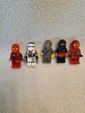 5x Lego® Ninjago™ Figuren Figur Ninja Kai Jay Cole Zane Lloyd™ in Top Zustand