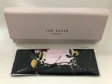 Ted Baker Ladies Pink Glasses spectacle case & Cloth  NEW