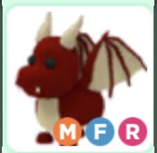 Roblox - Adopt me - Legendary Ride Fly Mega Red Dragon