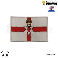 NORTHERN IRELAND National Flag Embroidered Iron On Sew On Patch Badge For Clothe