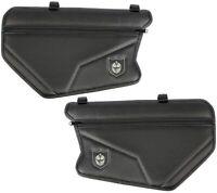 Pro Armor Stock Door Knee Pad Storage Bags Black Fits Can Am Maverick X3