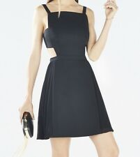 New with tag $298 BCBG Max Azria Brielle Open-Back Side-Pleated B1156 Dress Sz 4