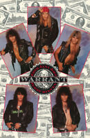 POSTER : MUSIC : WARRANT - ALL 5 MONTAGE - FREE SHIPPING !   #WAP002 LW24 W