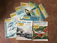 Lote 10 Aviación Revista Universo De 1954 De 1964