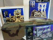 1/35 lot of 3 Verlinden Diorama kits  middle east. arab, battle damaged