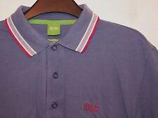Hugo Boss 'Paddy' Etiqueta Verde Calce moderno Golf Polo Camisa Camiseta Pequeño S