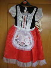 LITTLE RED RIDING HOOD DRESSING UP/FANCYDRESS CHILDS 3-4YRS GIRLS NEW BNWT