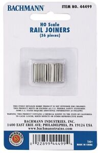 Bachmann 44499 - 36 x Fishplates (Track Joiners) Code 100 track 00 Gauge PLUSPOS