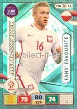 POL13-Jakub Blaszczykowski-FansFavourite-Panini Adrenalyn Road to World Cup 2018