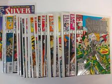Spiderman Comic Lot Silver Sable & the Wild Pack 1992 lot of 29 1-34 VF/VF+ BB