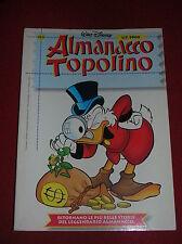 ALMANACCO  TOPOLINO  N°   1  DEL  1999