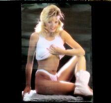 Vtg 1st Hooters Girl Sexy Lynn Austin Poster Playboy Center Fold