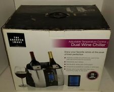The Sharper Image Double Dual Wine Chiller Model No. KP-W420 #3314 Two Bottles