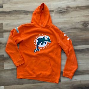 Vintage Miami Dolphins Ricky Williams Reebok Hoodie Youth Large (14/16)
